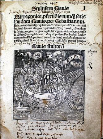Narrenschiff_Titelseite