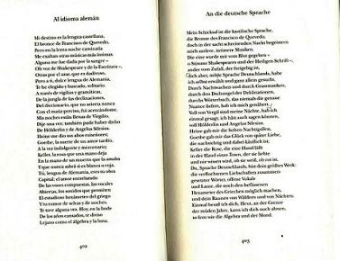Borges Al Idioma Aleman