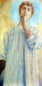 "Fernand-Khnopff-""Il-Silenzio""-1890-Musée-d'Art-moderne-Bruxelles-149x300"